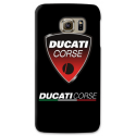COVER DUCATI CORSE per SAMSUNG GALAXY SERIE S, S MINI, A, J, NOTE, ACE, GRAND NEO, PRIME, CORE, MEGA