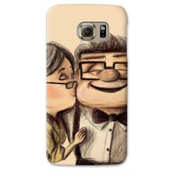 COVER UP CARL E ELLIE per SAMSUNG GALAXY SERIE S, S MINI, A, J, NOTE, ACE, GRAND NEO, PRIME, CORE, MEGA