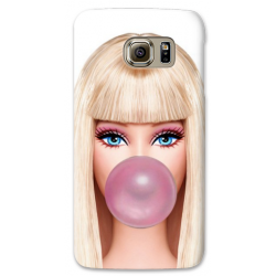 COVER BARBIE BUBBLEGUM per SAMSUNG GALAXY SERIE S, S MINI, A, J, NOTE, ACE, GRAND NEO, PRIME, CORE, MEGA
