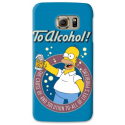 COVER HOMER SIMPSON ALCHOL per SAMSUNG GALAXY SERIE S, S MINI, A, J, NOTE, ACE, GRAND NEO, PRIME, CORE, MEGA