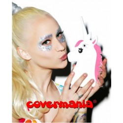 COVER SILICONE MORBIDO UNICORNO