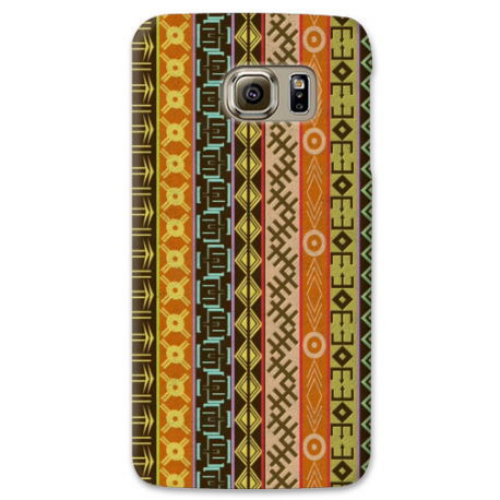 COVER TRIBALE ORIZONTALE per SAMSUNG GALAXY SERIE S, S MINI, A, J, NOTE, ACE, GRAND NEO, PRIME, CORE, MEGA