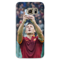 COVER TOTTI SELFIE per SAMSUNG GALAXY SERIE S, S MINI, A, J, NOTE, ACE, GRAND NEO, PRIME, CORE, MEGA