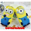 COVER SILICONE MORBIDO PER IPHONE MINIONS