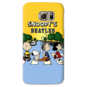 COVER SNOOPY BEATLES per SAMSUNG GALAXY SERIE S, S MINI, A, J, NOTE, ACE, GRAND NEO, PRIME, CORE, MEGA