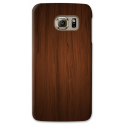 COVER FANTASIA LEGNO SCURO per SAMSUNG GALAXY SERIE S, S MINI, A, J, NOTE, ACE, GRAND NEO, PRIME, CORE, MEGA