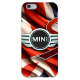 COVER JMINI COOPER FLAG per iPhone 3g/3gs 4/4s 5/5s/c 6/6s Plus iPod Touch 4/5/6 iPod nano 7