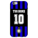 COVER INTER PERSONALIZZATA COL TUO NOME E NUMERO per iPhone 3g/3gs 4/4s 5/5s/c 6/6s Plus iPod Touch 4/5/6 iPod nano 7