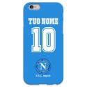COVER NAPOLI PERSONALIZZATA COL TUO NOME E NUMERO per iPhone 3g/3gs 4/4s 5/5s/c 6/6s Plus iPod Touch 4/5/6 iPod nano 7