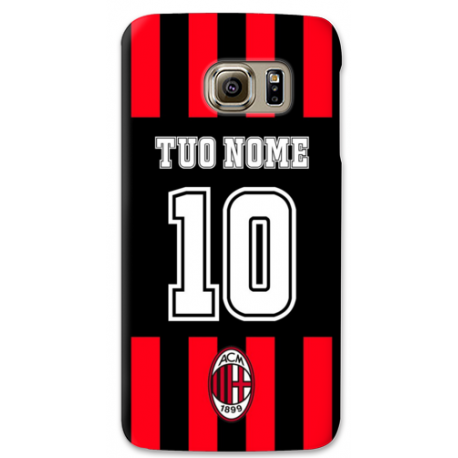 COVER INTER COL TUO NOME E NUMERO per SAMSUNG GALAXY SERIE S, S MINI, A, J, NOTE, ACE, GRAND NEO, PRIME, CORE, MEGA
