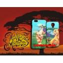 COVER DI COPPIA Re Leone Simba e Mafusa per APPLE SAMSUNG HUAWEI LG SONY