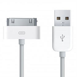 CAVO USB RICARICA + SYNC COMPATIBILE PER APPLE IPHONE 3G/GS 4/4S IPOD TOUCH 2/3/4 IPAD 1/2/3