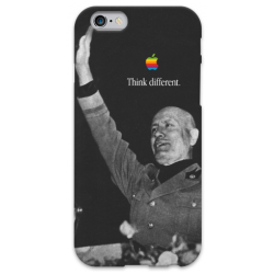 COVER MUSSOLINI THINK DIFFERENT per iPhone 3g/3gs 4/4s 5/5s/c 6/6s Plus iPod Touch 4/5/6 iPod nano 7