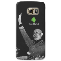 COVER MUSSOLINI THINK DIFFERENT per ASUS HTC HUAWEI LG SONY BLACKBERRY NOKIA