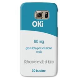COVER OKI Pharmacy case per SAMSUNG GALAXY SERIE S, S MINI, A, J, NOTE, ACE, GRAND NEO, PRIME, CORE, MEGA