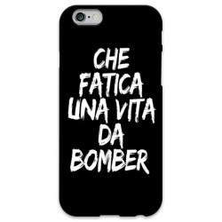COVER CHE FATICA UNA VITA DA BOMBER NERO per iPhone 3g/3gs 4/4s 5/5s/c 6/6s Plus iPod Touch 4/5/6 iPod nano 7