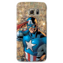 COVER CAPITAN AMERICA VINTAGE per ASUS HTC HUAWEI LG SONY BLACKBERRY NOKIA
