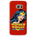 COVER WONDER WOMAN ROSSO per ASUS HTC HUAWEI LG SONY BLACKBERRY NOKIA