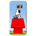 COVER SNOOPY SCRIVE per ASUS HTC HUAWEI LG SONY BLACKBERRY NOKIA