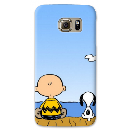 COVER SNOOPY BEATLES per ASUS HTC HUAWEI LG SONY BLACKBERRY NOKIA