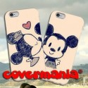 COVER DI COPPIA Minnie e Topolino per APPLE SAMSUNG HUAWEI LG SONY