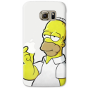 COVER HOMER SIMPSON APPLE per ASUS HTC HUAWEI LG SONY BLACKBERRY NOKIA