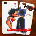 COVER DI COPPIA Wonder Woman e Batman per APPLE SAMSUNG HUAWEI LG SONY