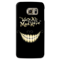 "COVER STREGATTO ""WE'RE ALL MAD HERE"" PER ASUS HTC HUAWEI LG SONY BLACKBERRY NOKIA"