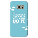 COVER IF YOU CAN DREAM IT YOU CAN DO IT PER ASUS HTC HUAWEI LG SONY BLACKBERRY NOKIA