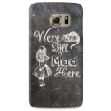 COVER ALICE WONDERLAND PER ASUS HTC HUAWEI LG SONY BLACKBERRY NOKIA