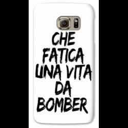 COVER CHE FATICA UNA VITA DA BOMBER BIANCO PER ASUS HTC HUAWEI LG SONY BLACKBERRY