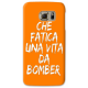COVER CHE FATICA UNA VITA DA BOMBER VERDE PER ASUS HTC HUAWEI LG SONY BLACKBERRY