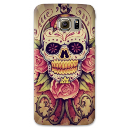 COVER TESCHIO MESSICANO VINTAGE per SAMSUNG GALAXY SERIE S, S MINI, A, J, NOTE, ACE, GRAND NEO, PRIME, CORE, MEGA