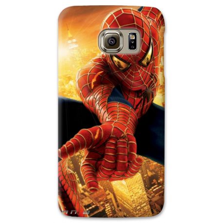 COVER SPIDERMAN NERO PER ASUS HTC HUAWEI LG SONY BLACKBERRY