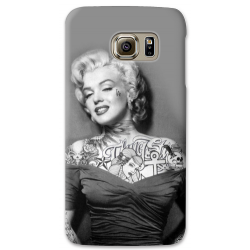 COVER MARILYN MONROE TATTOO 2 PER ASUS HTC HUAWEI LG SONY BLACKBERRY