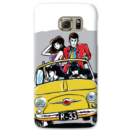 COVER LUPIN 500 1 per SAMSUNG GALAXY SERIE S, S MINI, A, J, NOTE, ACE, GRAND NEO, PRIME, CORE, MEGA