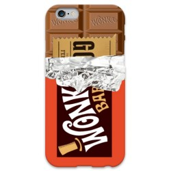 COVER WILLY WONKA CIOCCOLATO per iPhone 3g/3gs 4/4s 5/5s/c 6/6s Plus iPod Touch 4/5/6 iPod nano 7