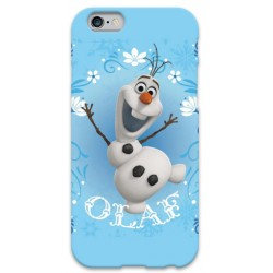 COVER OLAF Frozen per iPhone 3g/3gs 4/4s 5/5s/c 6/6s Plus iPod Touch 4/5/6 iPod nano 7