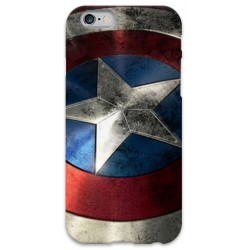 COVER CAPITAN AMERICA Scudo per iPhone 3g/3gs 4/4s 5/5s/c 6/6s Plus iPod Touch 4/5/6 iPod nano 7