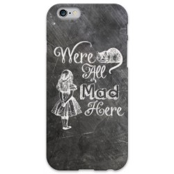 COVER ALICE Wonderland per iPhone 3g/3gs 4/4s 5/5s/c 6/6s Plus iPod Touch 4/5/6 iPod nano 7