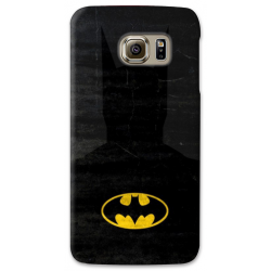 COVER SUPERMAN MINIMALIST per SAMSUNG GALAXY SERIE S, S MINI, A, J, NOTE, ACE, GRAND NEO, PRIME, CORE, MEGA
