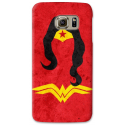 COVER WONDER WOMAN MINIMALIST PER ASUS HTC HUAWEI LG SONY BLACKBERRY