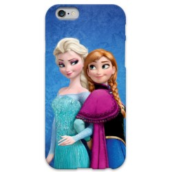 COVER ELSA E ANNA Frozen per iPhone 3g/3gs 4/4s 5/5s/c 6/6s Plus iPod Touch 4/5/6 iPod nano 7