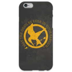 COVER HUNGER GAMES per iPhone 3g/3gs 4/4s 5/5s/c 6/6s Plus iPod Touch 4/5/6 iPod nano 7