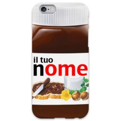 COVER NUTELLA PERSONALIZZATA COL TUO NOME per iPhone 3g/3gs 4/4s 5/5s/c 6/6s Plus iPod Touch 4/5/6 iPod nano 7