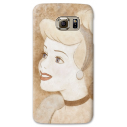 COVER CENERENTOLA TATTOO COLOR per SAMSUNG GALAXY SERIE S, S MINI, A, J, NOTE, ACE, GRAND NEO, PRIME, CORE, MEGA
