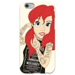 COVER ARIEL SIRENETTA TATTOO per iPhone 3g/3gs 4/4s 5/5s/c 6/6s Plus iPod Touch 4/5/6 iPod nano 7