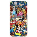 COVER DISNEY COLLAGE per iPhone 3g/3gs 4/4s 5/5s/c 6/6s Plus iPod Touch 4/5/6 iPod nano 7