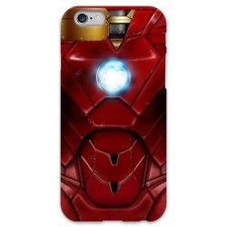 COVER ARMATURA IRON MAN per iPhone 3g/3gs 4/4s 5/5s/c 6/6s Plus iPod Touch 4/5/6 iPod nano 7