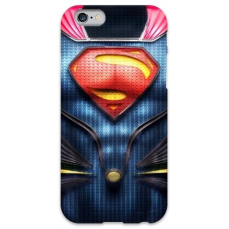 COVER ARMATURA SUPERMAN per iPhone 3g/3gs 4/4s 5/5s/c 6/6s Plus iPod Touch 4/5/6 iPod nano 7